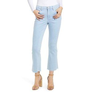 Blank NYC The Varick Kick Flare Cropped Jeans